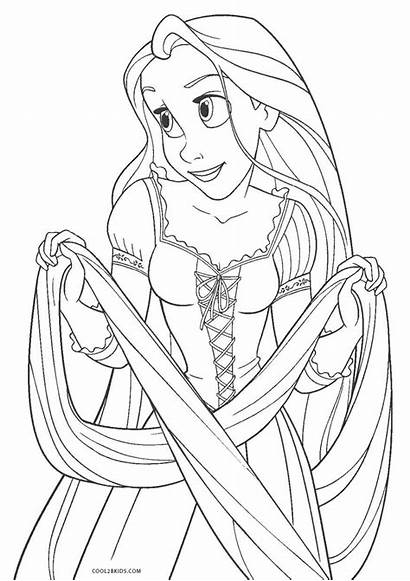Coloring Pages Tangled Children Printable Cool2bkids Stackbookmarks