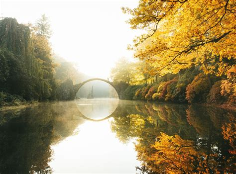 nature, Photography, Landscape, Fall, Morning, Sunlight ...