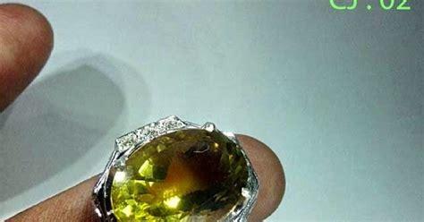 harga cincin emban batu akik murah berkualitas