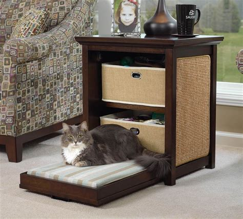 creative cat furniture creative cat beds as side tables that are simply adorable