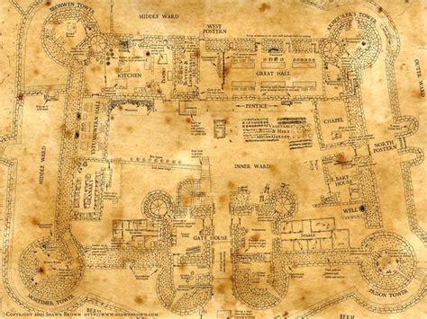 hogwarts school blueprints google search castle home
