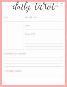 but i think it turned out cute tumblr With tarot journal template