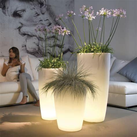 vaso luminoso vaso luminoso per piante talos light