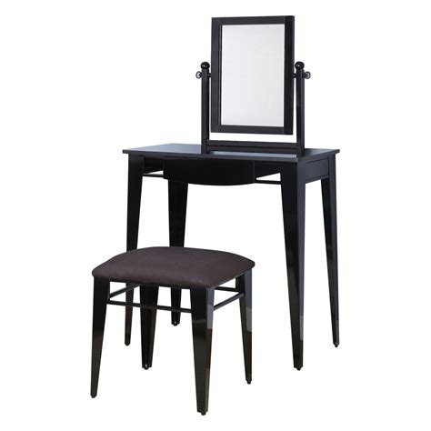Black Bedroom Vanity Set by Gloss Black Bedroom Vanity Set At Hayneedle