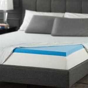 best cooling gel memory foam topper mattress queen size With cooling mattress pad for memory foam