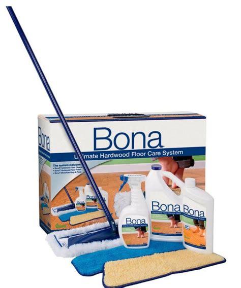Keep Your Hardwood Floors Looking Great With Bona Mom