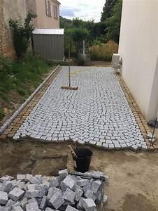 Superieur gravier pour allee de garage 9 bordure granit for Dalle pour allee de garage