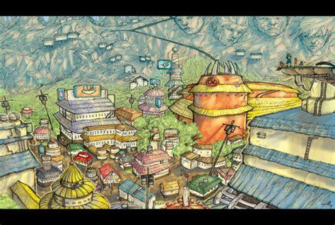 Konoha Village By Kojimas On Deviantart
