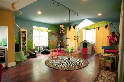 Safari Inspired Living Room Decorating Ideas by Urban Jungle Playroom Contemporary