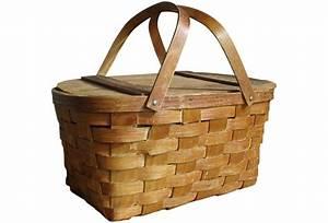 Vintage Picnic Basket Omero Home