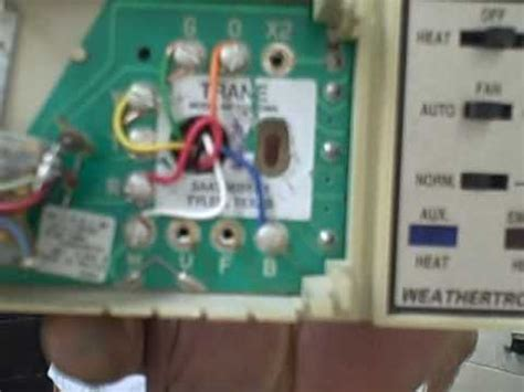 Weathertron Baystat 240 Wiring Diagram by Air Conditioning Repair Tips How To Change A Heat