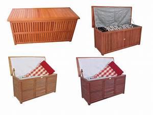 Truhe Aus Holz : auflagenbox gartenbox kissenbox box gartentruhe garten ~ Whattoseeinmadrid.com Haus und Dekorationen
