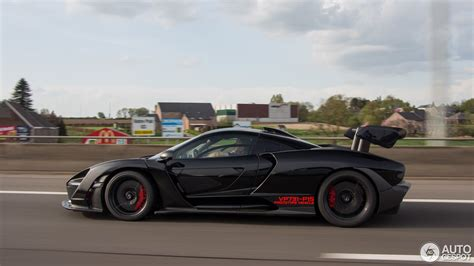 Mclaren Senna Shows Up In Dutch Traffic, Causes A Stir