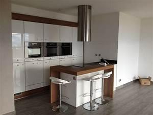 Cuisine Ikea Petit Espace : cuisine petit espace par woodworker74 sur l 39 air du bois ~ Premium-room.com Idées de Décoration