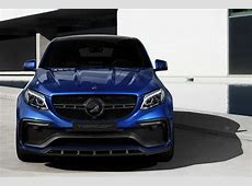 TopCar Dips InfernoWearing Mercedes GLE Coupe In Blue