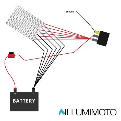 illumimoto motorcycle led light wiring diagram get free