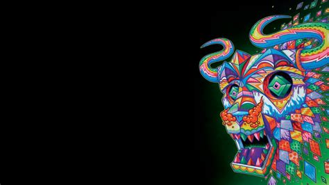Trippy Animal Wallpaper - the daily desktop psychedelic animals