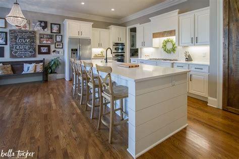 updated kitchen island shiplap bella tucker