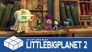 LittleBigPlanet 2 - 4 Player Co-Op Gameplay - YouTube