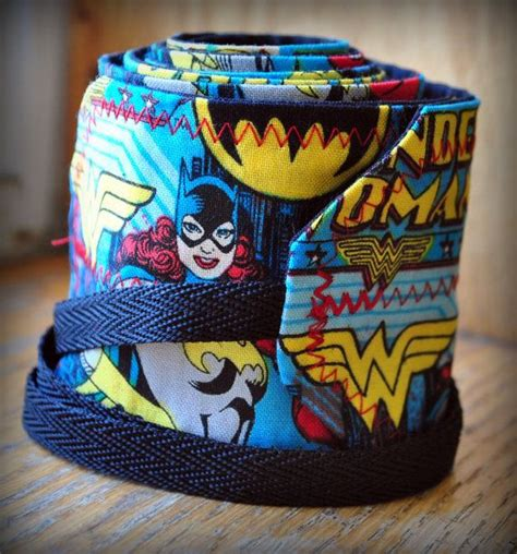 Girl Superhero Batgirl Wonder Woman Crossfit Wrist By