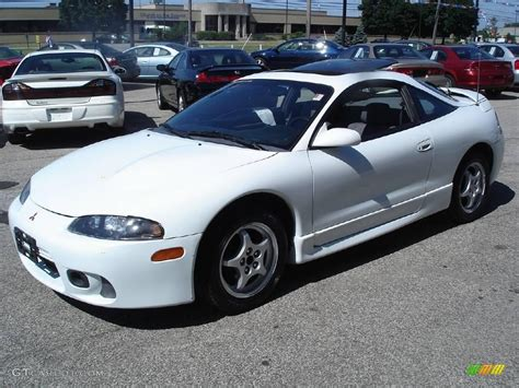 northstar white mitsubishi eclipse gs coupe  gtcarlotcom car color galleries