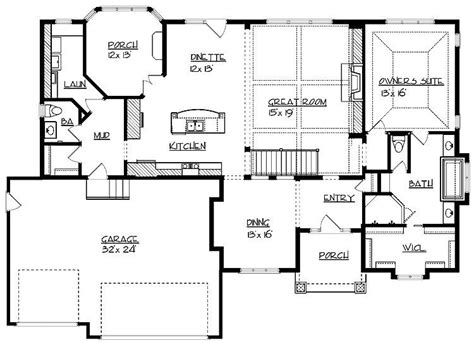 inspirational  square foot ranch house plans  home plans design