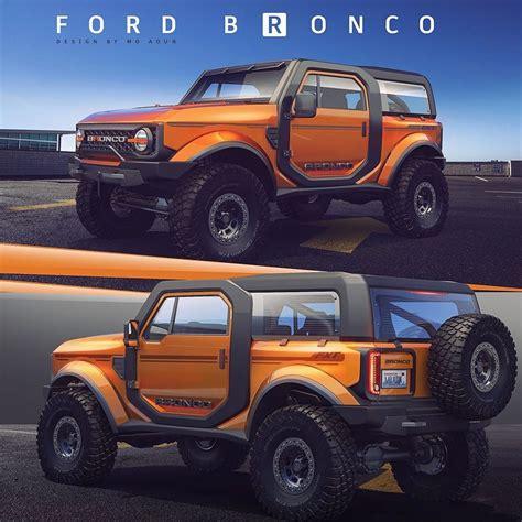 ford bronco rendered stays true   original