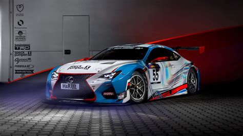 2018 Lexus Rc F Gt3 Concept Wallpapers Hd Wallpapers