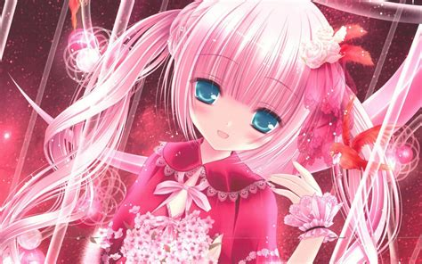 Anime Big Wallpaper - pink wallpapers for 58 images