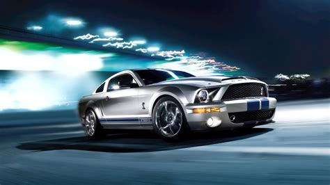 full hd wallpaper ford mustang highway speed side view