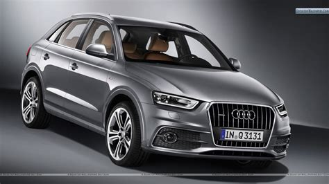 Audi Q3 Car On The Road Wallpapers And Images