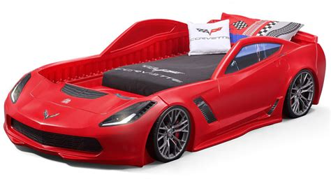 Corvette Car Bed - buy your kid a corvette z06 before they even their