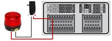 cctv dvr alarm input alarm relay output setup