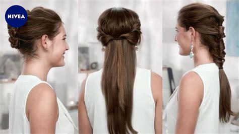 frisuren fuer styling anfaenger nivea hair youtube