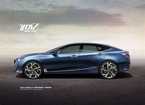2018 Acura Ilx Tov Renders Up An Ilx Precision Concept