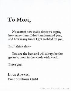 HAPPY BIRTHDAY MOM QUOTES FROM DAUGHTER TUMBLR image ...