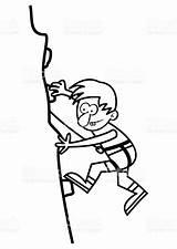 Climbing Coloring Boy Climber Ausmalbilder Ausmalen Scalatore Cartoon Zum Od Drawing Mountain R8 Extreme Audi Luxus Vogelbilder Kankou Chima Beste sketch template