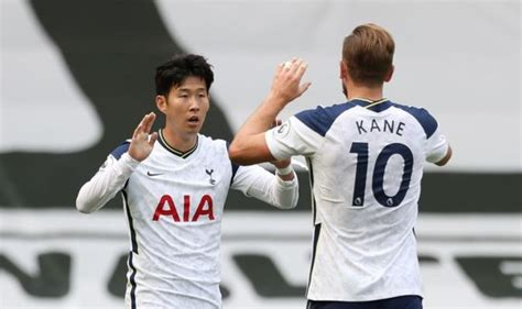 Tottenham duo Harry Kane and Heung-min Son are described ...