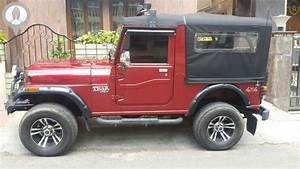 The gallery for --> White Mahindra Thar Modified