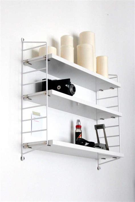String Regal Küche by Wie Ein Wei 223 Es String Regal Mein Arbeitszimmer Aufr 228 Umt