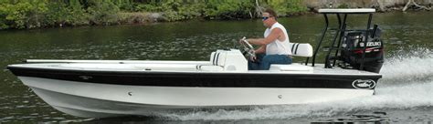 Flats Boats Offshore by Dusky Marine Custom Built Offshore Shallow Water