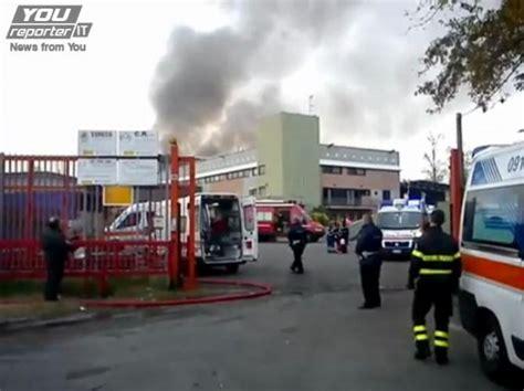 fabbrica ladari paderno dugnano foto l esplosione in fabbrica a paderno 1 di 18