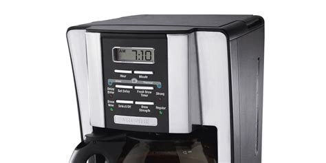It yielded overextracted, bitter coffee that our tasters. Mr. Coffee 12-Cup Programmable Coffeemaker #BVMC-SJX33GT Review