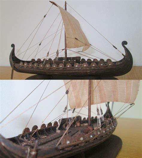 Viking Longboat Model by Viking Model Ship Scale 1 100 Http Atriellme