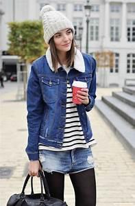 Veste En Jean Doublée Mouton Femme : 1001 id es la veste en jean levis un classique vintage ~ Melissatoandfro.com Idées de Décoration
