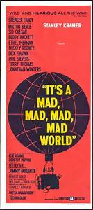 Its a Mad Mad Mad Mad World original film poster | Movie ...