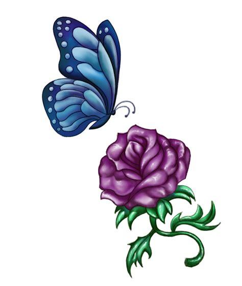purple rose tattoos askideascom
