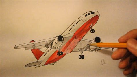 How To Draw Airplane Youtube