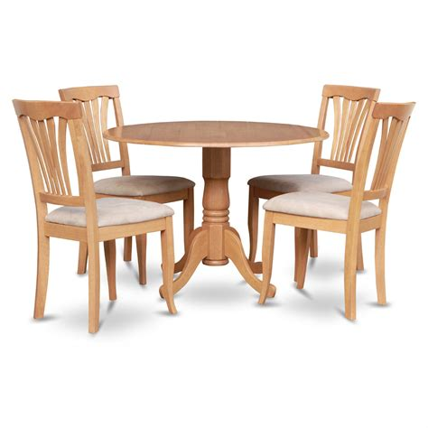 east west furniture dublin 5 drop leaf dining table
