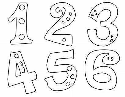 Numbers Coloring Pages Spanish Printable Getcolorings